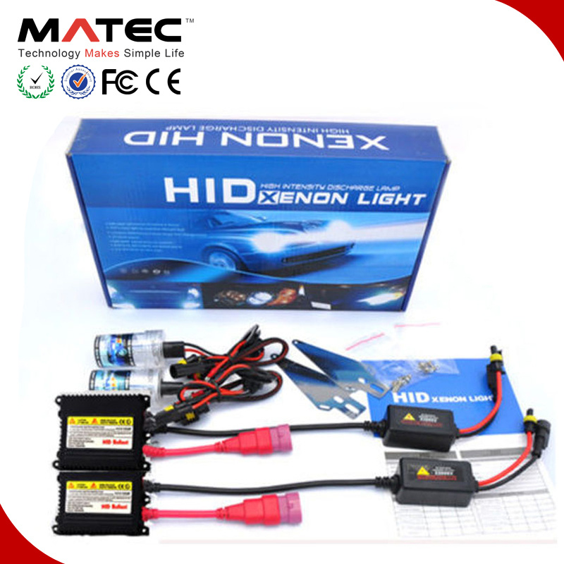 12V/24V Replacement Light Lamp Ballast HID Xenon Kit 35W/55W/75W/100W for Auto
