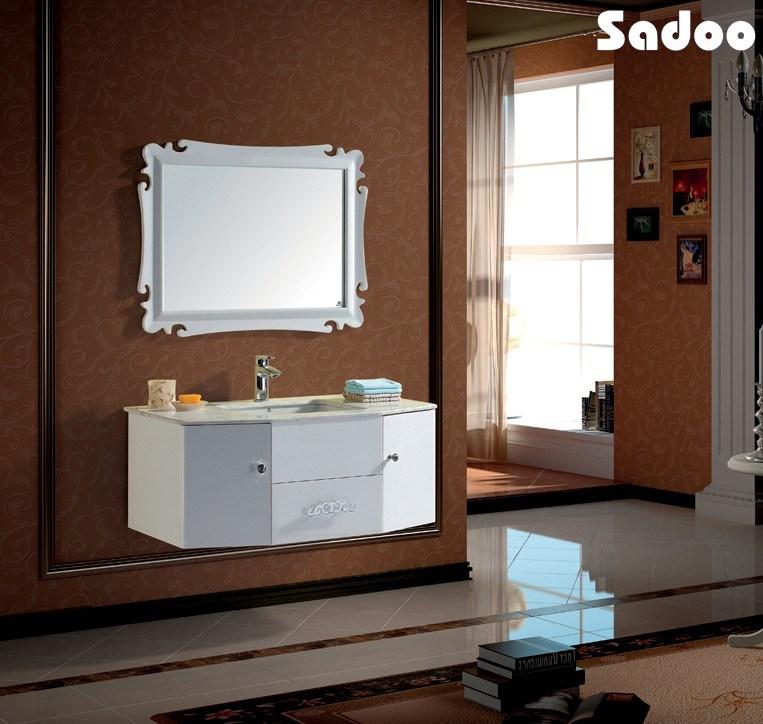 Gabinete Para Baño Madera:Baño de madera sólida del gabinete Jane Europeo de Diseño (SD