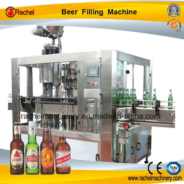Automatic Glass Bottle Beer Filler Machine