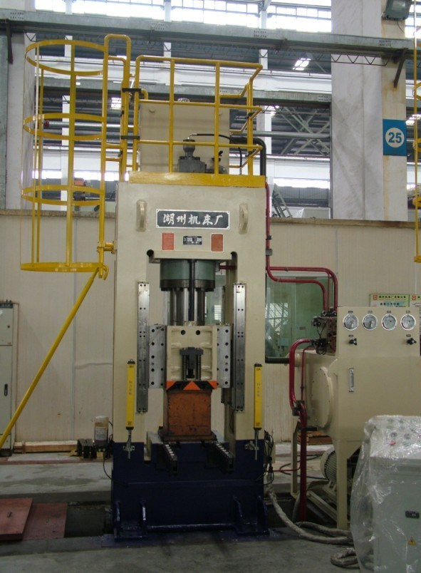 The Precise Forging Hydraulic Machine