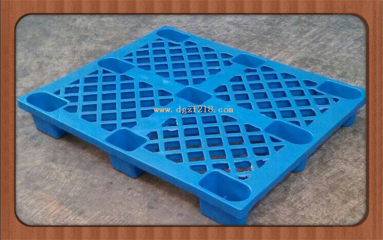 1200*1000*145mm Nestable Plastic Storage Pallet for Warehouse (ZFP-2)