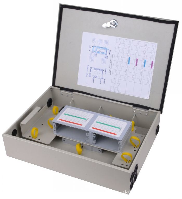 48 Cores Fiber Optic Cable Terminal Plastic Distribution Box