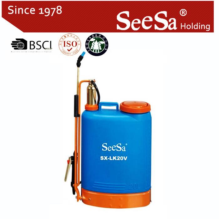 20L Knapsack/Backpack Manual Hand Pressure Agricultural Sprayer (SX-LK16F)