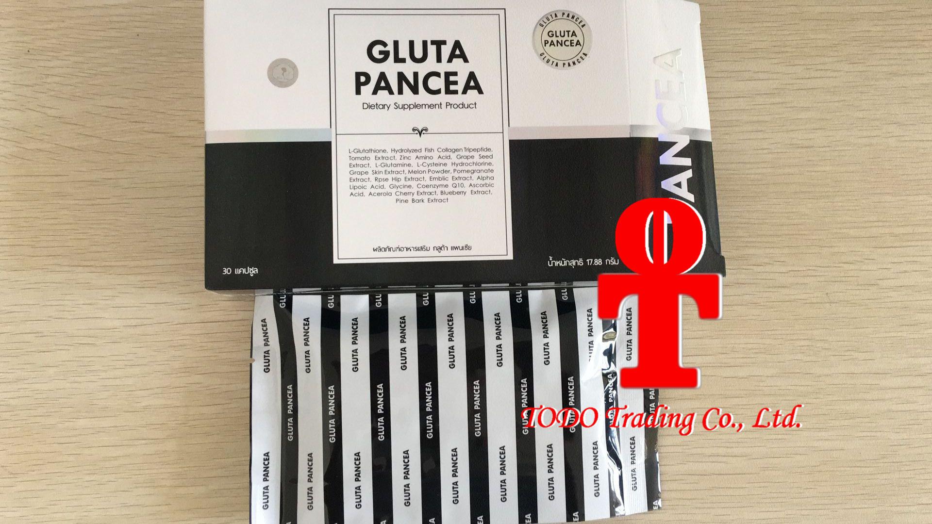 Gluta Panacea Vitamin Super White Aura Healthy Natural