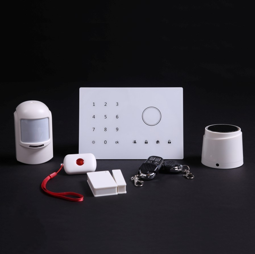 6 Languages Supported Security Burglar Alarm with Wireless Relay (ES-2002GSM)