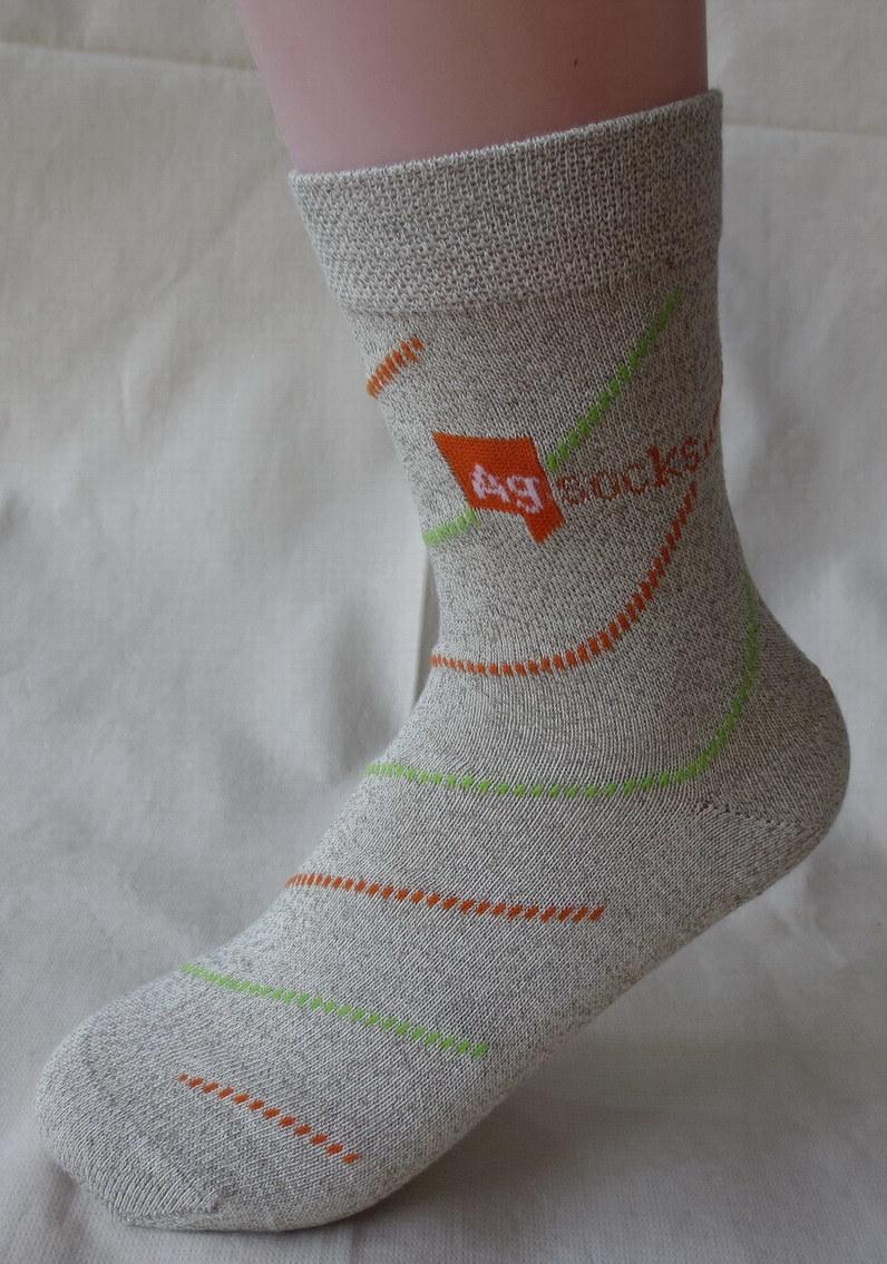 Silver Anti-Odor Socks