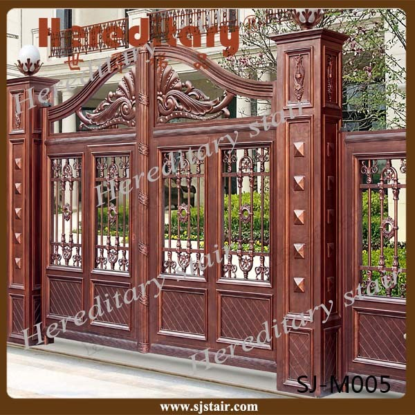 images of Wholesale Indian House Main Aluminum Gate Design