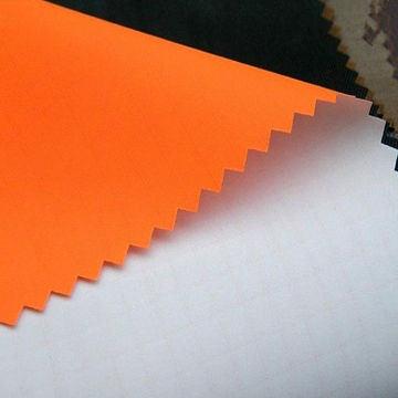Waterproof Nylon Ripstop Fabric with PU Milky Coating