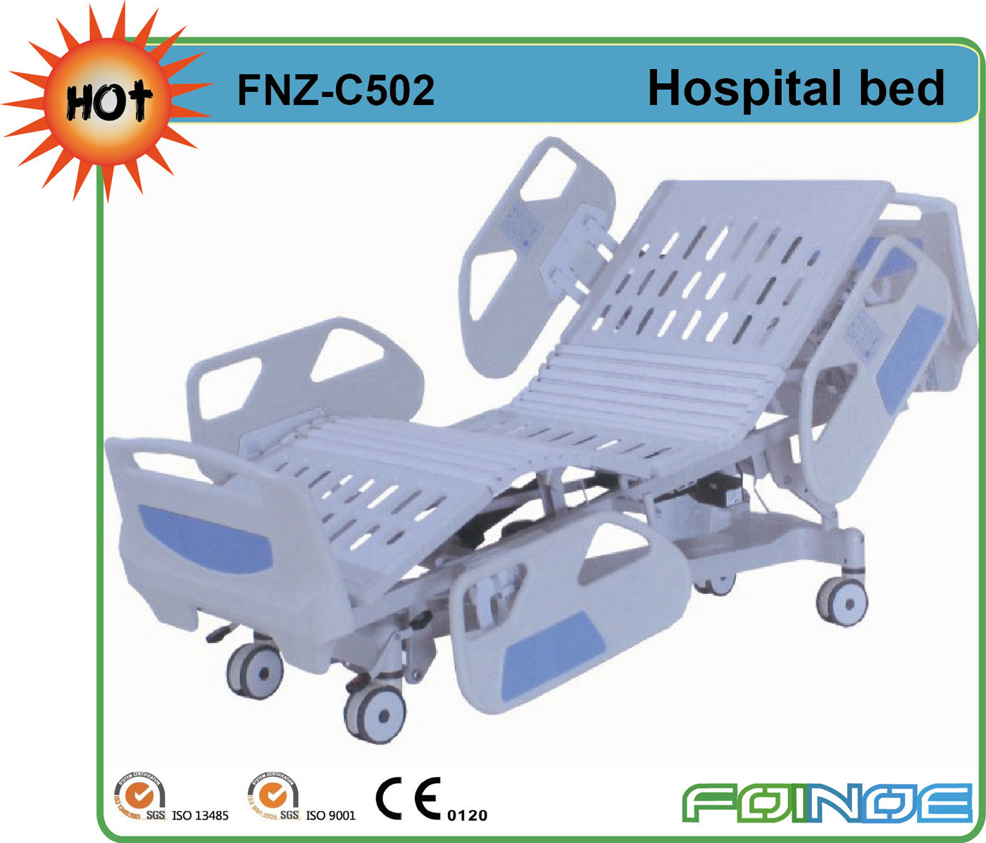 Fnz-C502 Home Medical Hospital Bed