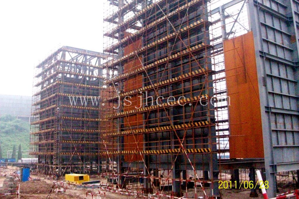 Refinery Crude Oil Unit Steel Structure