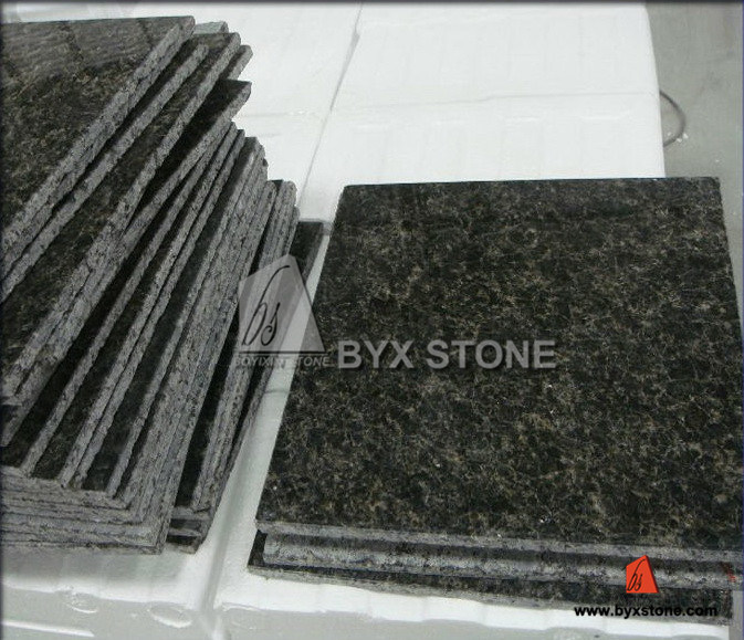 Natural Polished Stone Granite Tiles for Floor / Flooring & Wall