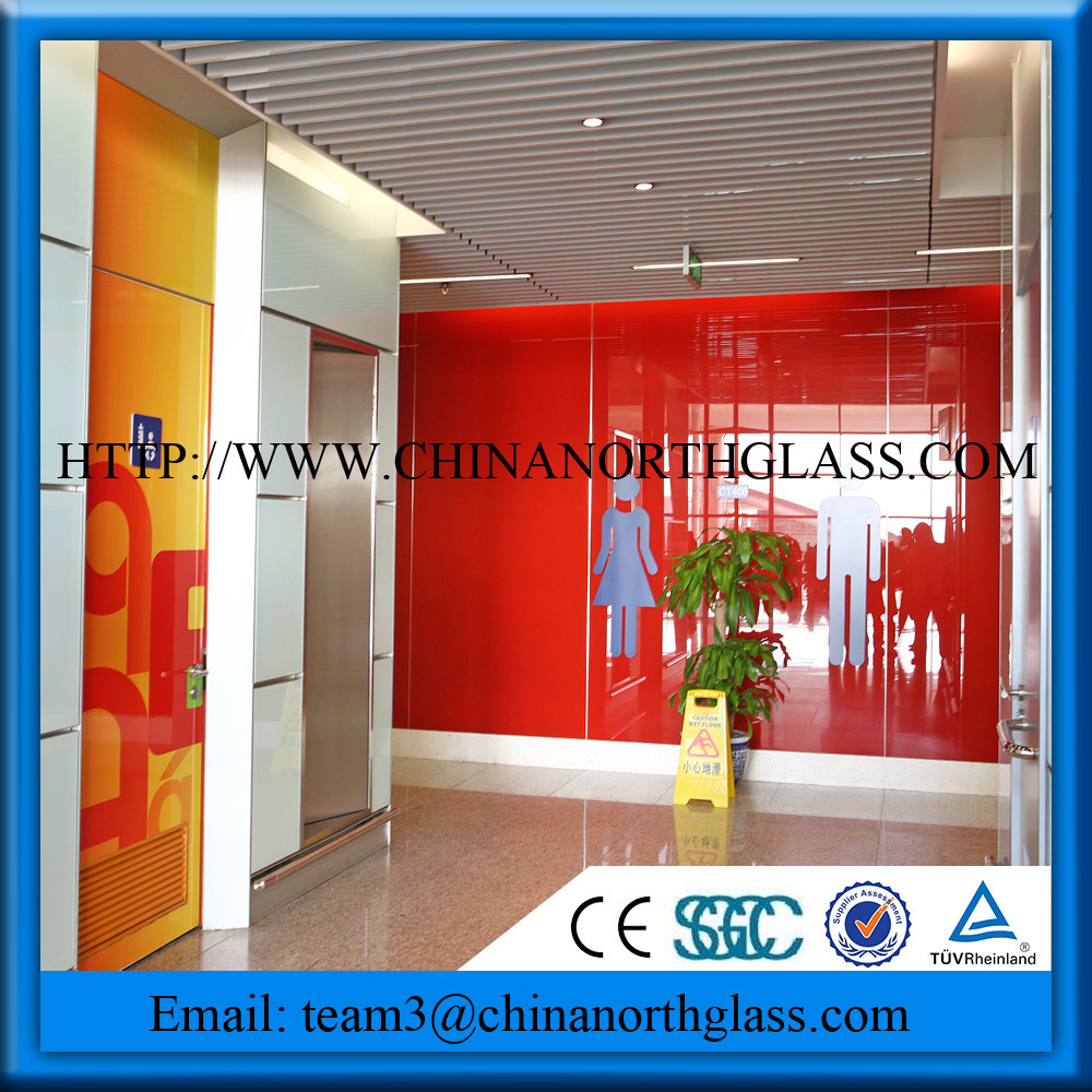 Silkscreen Printing Glass, with Perfect Quality