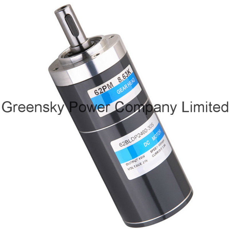 32/42/52/62mm DC Brush (brushless) Planetary Gear Motors