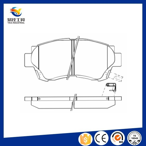 Hot Sale Auto Brake Systems Camry Brake Pad Replacement