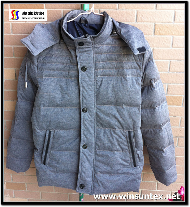 2014 Popular Downproof Jacket Fabric (HKTJ071-3DRMC)