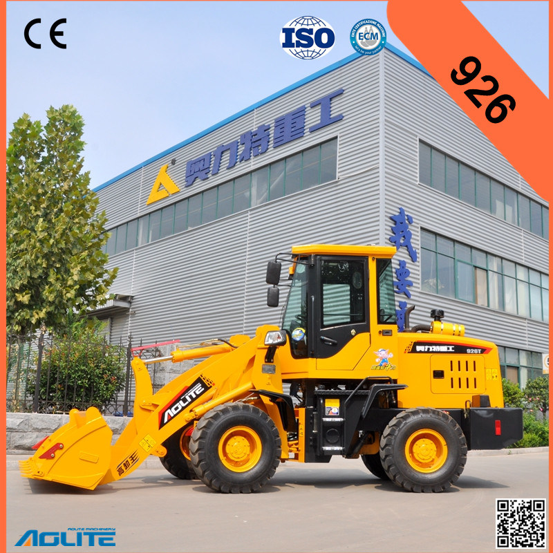 Chinese High Quality Small Wheel Loader, Mini Loader, Hydraulic Compact Loader, Ce Certified