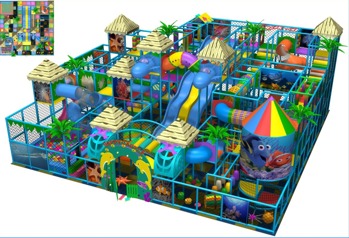 China big ocean indoor soft playground ty 130613 photos for Best indoor playground for toddlers