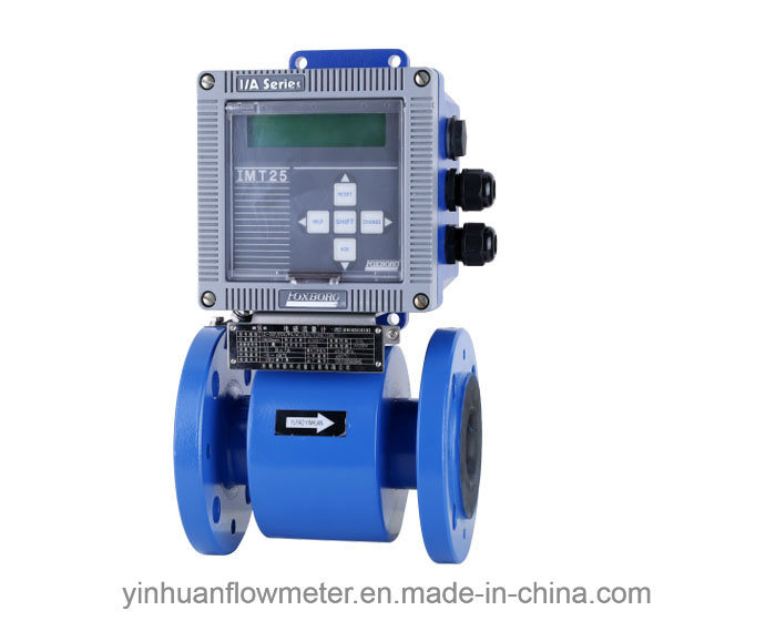 Fox Intelligent Converter Flange Integrated Electromagnetic Flowmeter