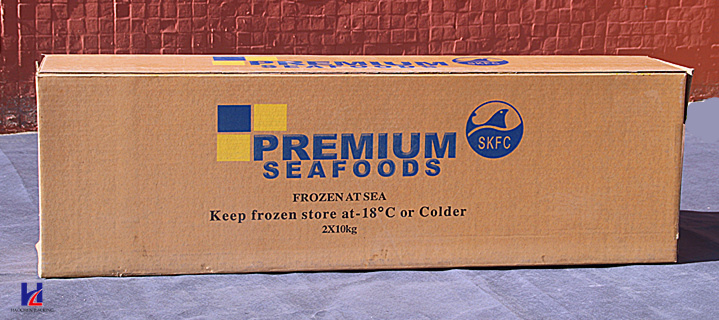Custom Frozen Seafood & Vegetables Corrugated Packaging Box/Shipping Box