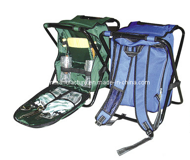 Collapsible Picnic Backpack with Chair