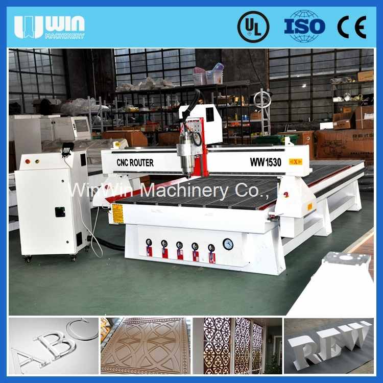 China Factory 1530 CNC Router Cutter Machine Wood Cutting Machinery