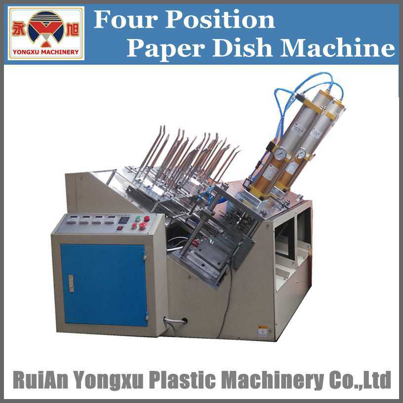 Ce Certificate Paper Plate Making Machine