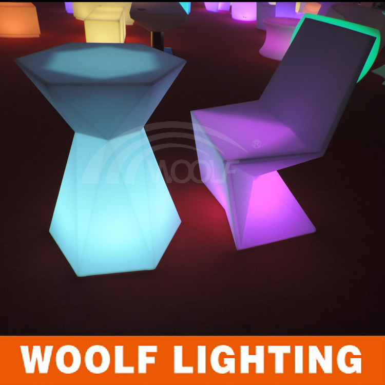 Woolf LED Bar Furniture 300 Designs LED Bar Chair Bar Stools Bar Dinner Table