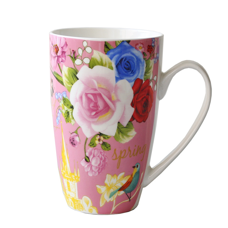 Porcelain Cup Ceramic Coffee Mug (XLTCB-002 350)