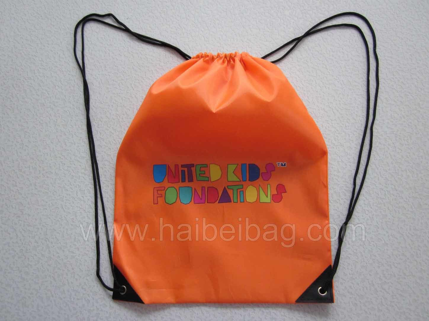 Drawstring Gym Bag, Sports Backpack (HBDR-10)