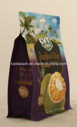 Customized Plastic Flat Bottom Food Aluminum Zipper Matte Doybag