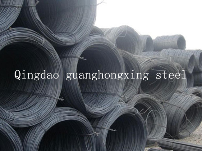 GB 08f, 10#, SAE 1006, 1006b, SAE1008b, SAE1010 Hot Rolled Steel Wire Rod