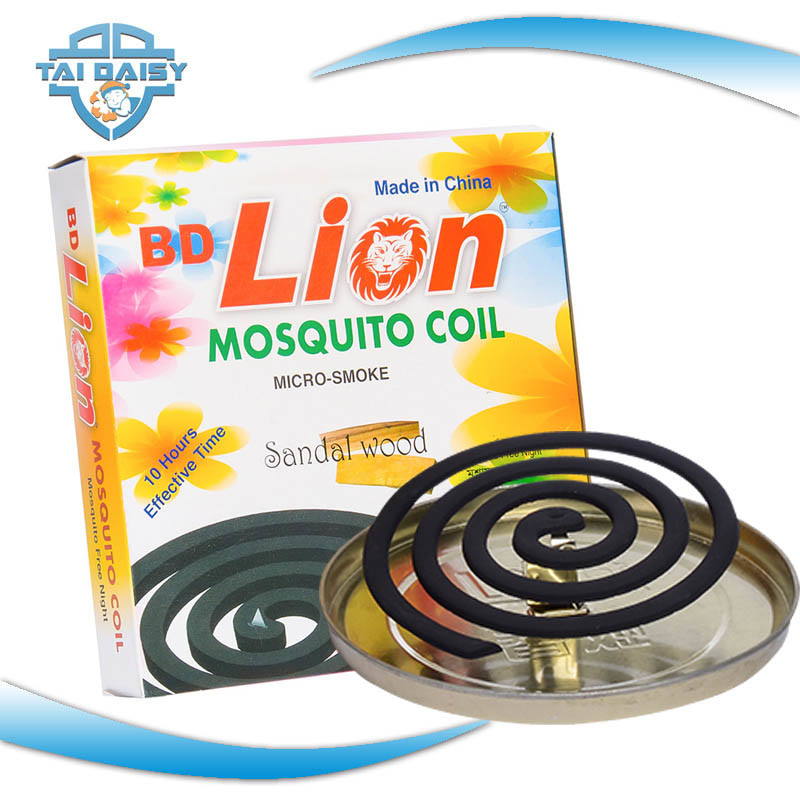 Black Mosquito Coil Pest Control