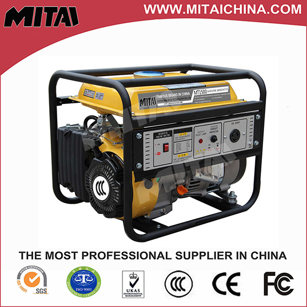 Single Phase Gasoline Generator with Automatic Voltage Regulator