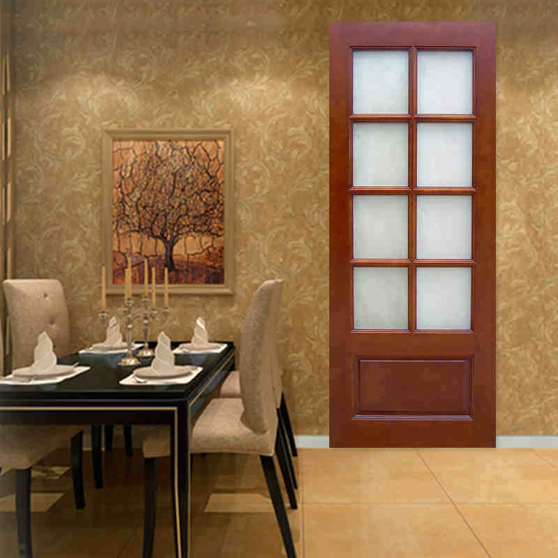 Ritz Luxury Design for Bathroom Wooden Interior Door