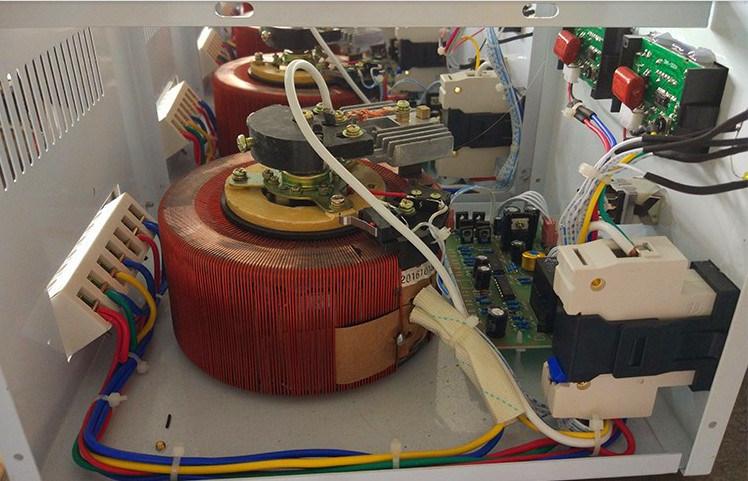 75kVA Three Phase AC Voltage Regulators Voltage Stablizers