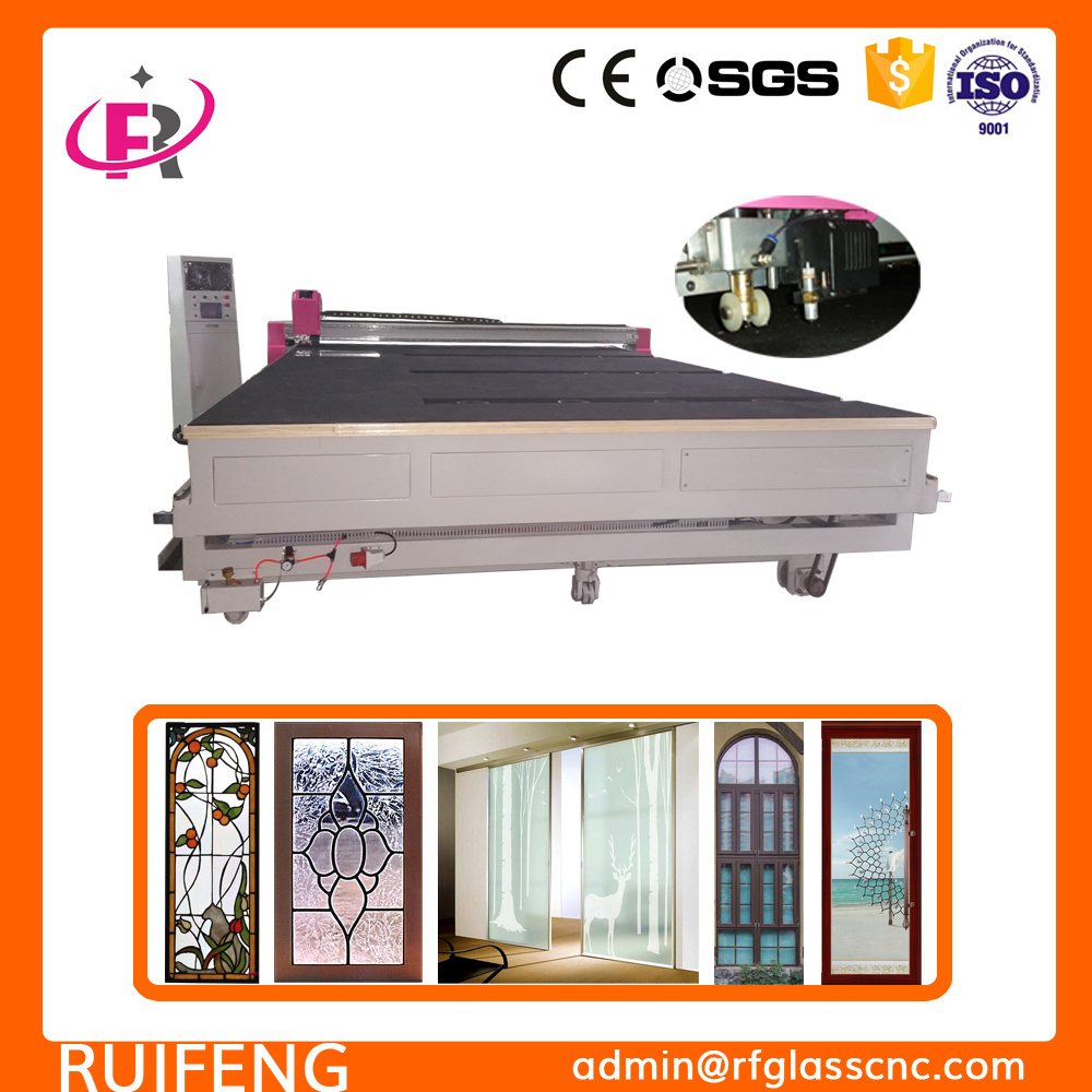 Multi Functions Full Automatic CNC Glass Cutting Table (RF3826AIO)