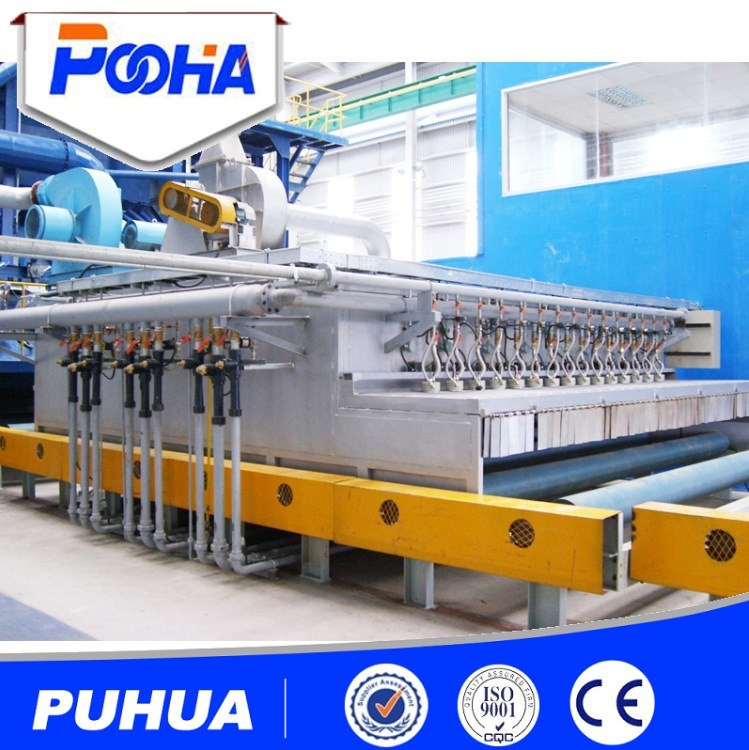 Steel Plate Cleaning and Painting Pretreatment Production Line