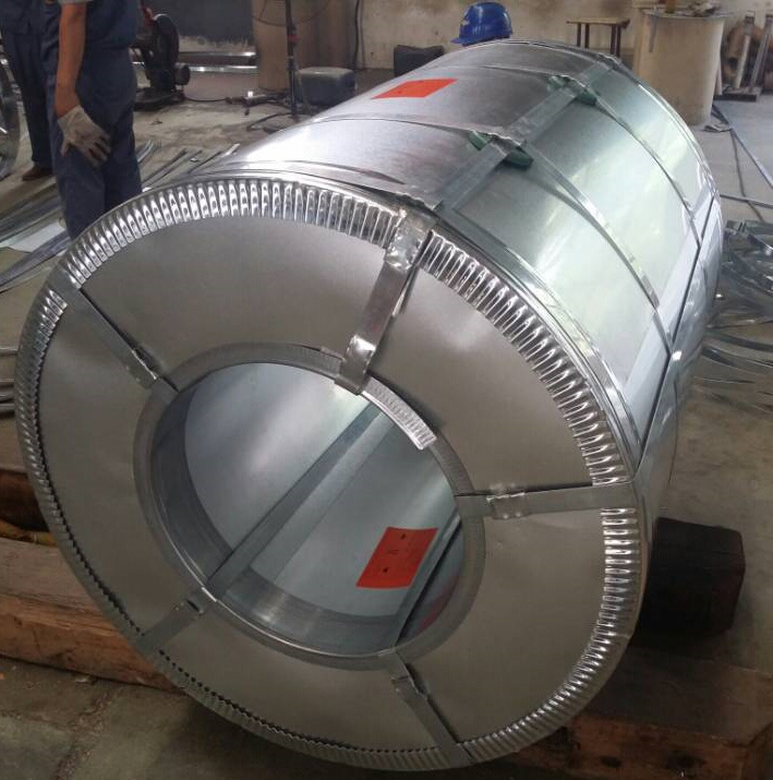 Dx51d+Z100 0.12-3.0mm Building Material Galvanized Steel Coil for Roofing Sheet