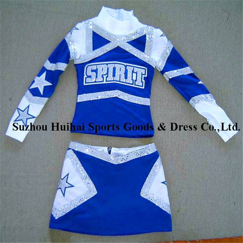 2016 Long Sleeve Cheerleading Uniforms
