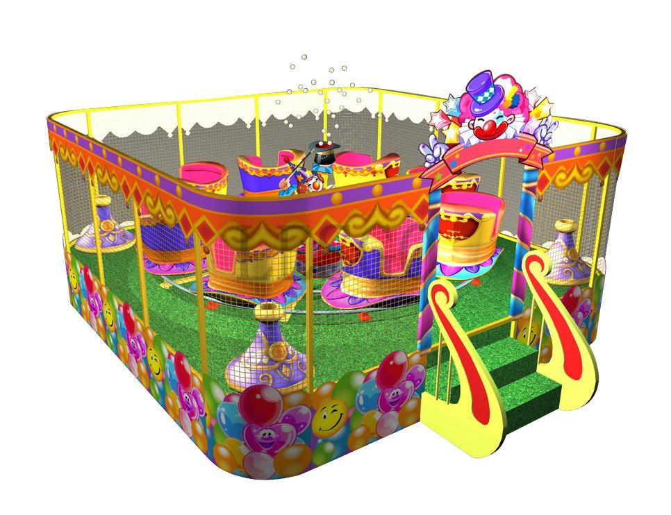 Magic Spray Ball Car/Merry Go Round/Electric Train /Amusement Park Ride (LC01)