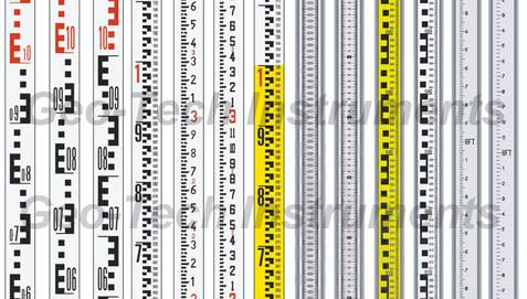 Good Quality 5m Aluminum Leveling Staff