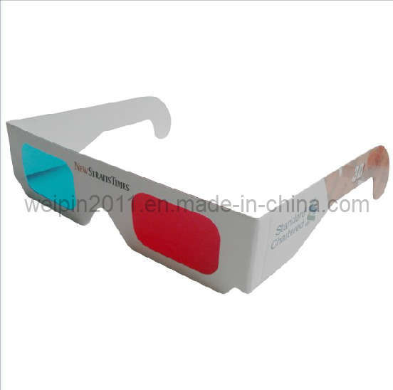 how to make red cyan 3d glasses