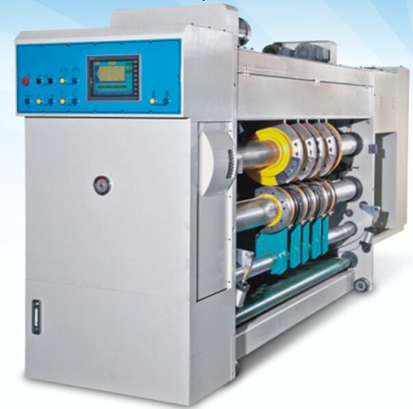 Flexo Printer Machine with Slotter Die Cutter&Vibrator Auto Stacker