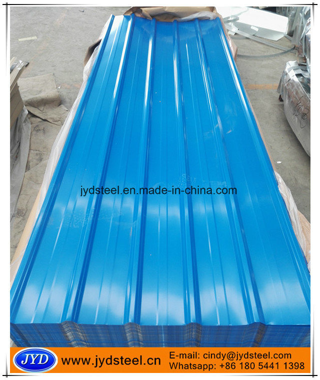 Color Corrugated Iron Roof Sheet with Trapezium Type