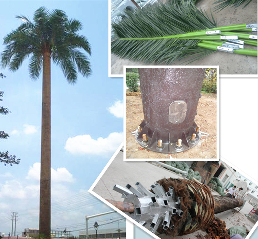 High-Quality Camouflage Palm Tree Antenna Tower