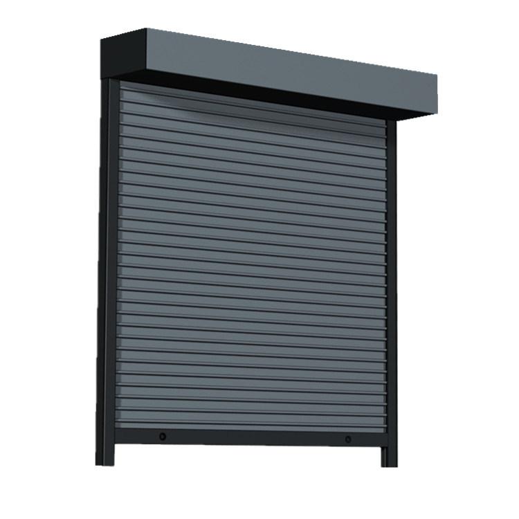 Top Quality Automatic Exterior Aluminium Security Roller Shutter Door