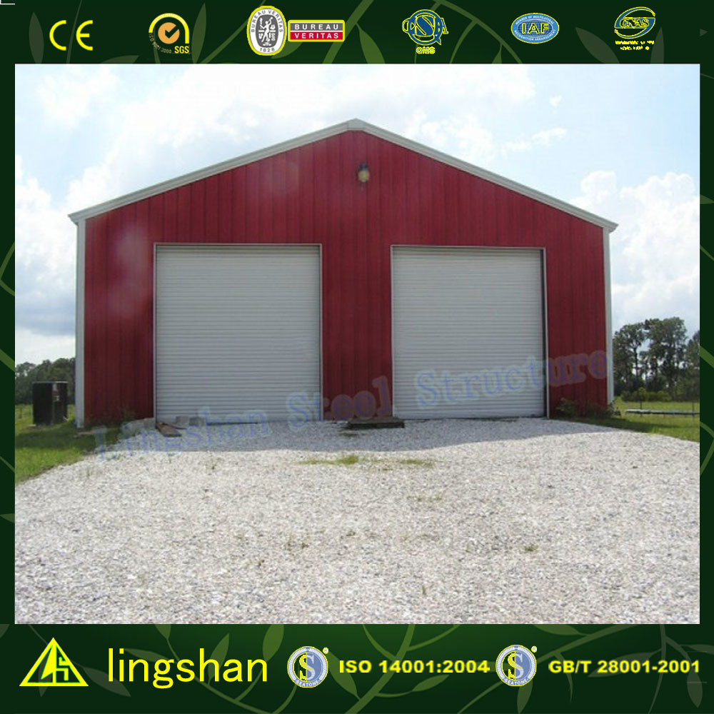 High Quality Light Steel Prefabricated Warehouse with CE Certification (L-S-011)