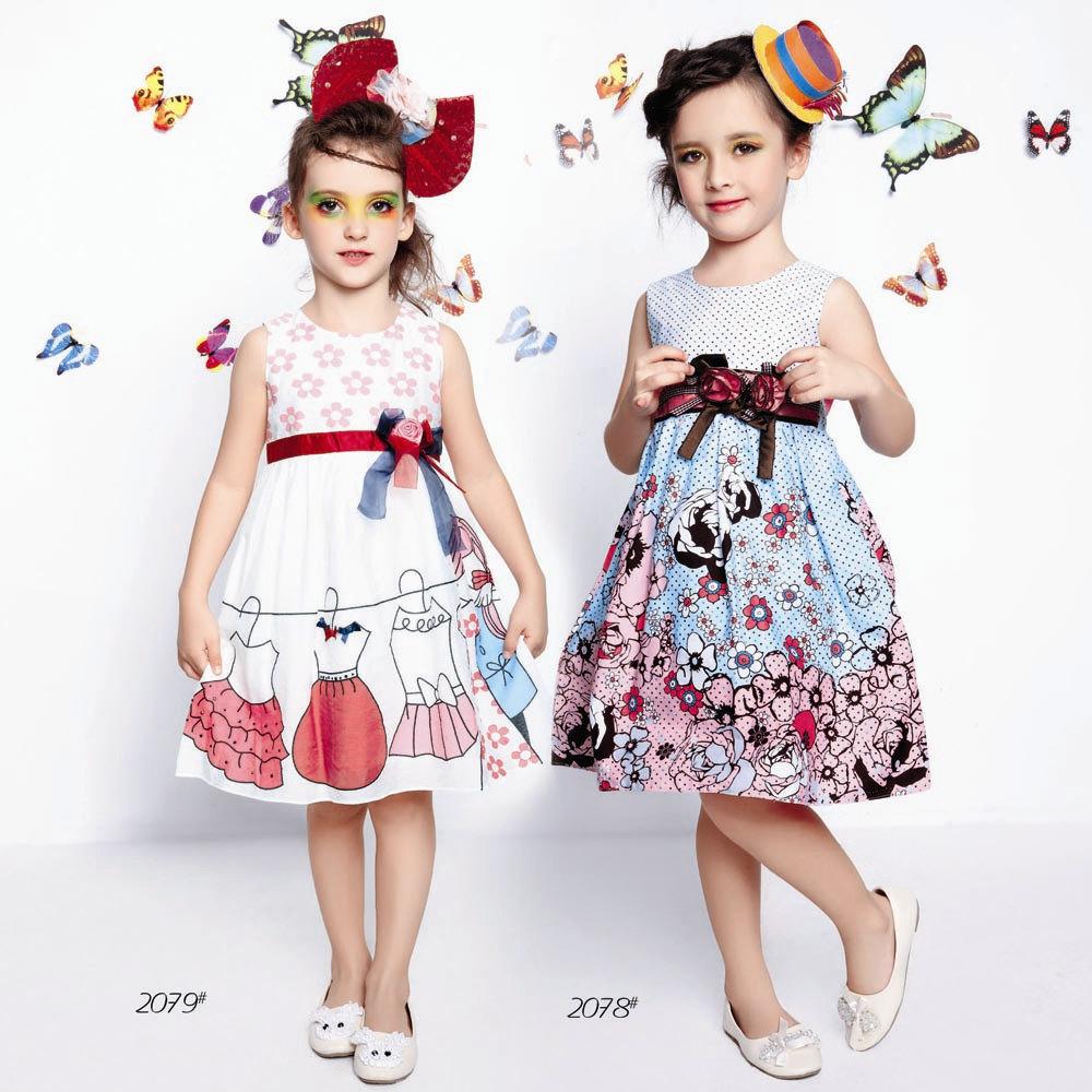 Самые модные платья 2017 для девочек