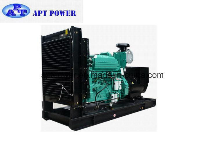500kw Industrial Cummins Powered Diesel Generator Set with Fuel Tank