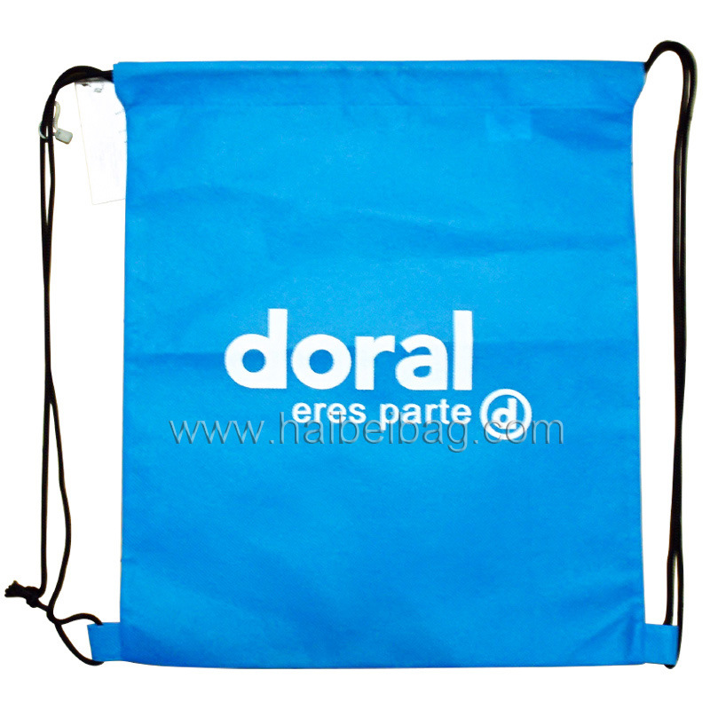 Non Woven Drawstring Bag, Drawstring Backpack (HBNB-30)